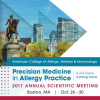 American College of Allergy, AsthAmerican College of Allergy, Asthma and Immunology Annual Scientific Meetingma and Immunology Annual Scientific Meeting