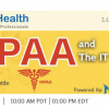 HIPAA and The IT Manager Webinar