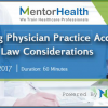 Structuring Physician Practice Acquisitions: Key Stark Law Considerations webinar by MentorHealth