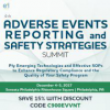 4th Adverse Events Reporting and Safety Strategies Summit