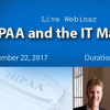 MentorHealth Webinar On HIPAA and the IT Manager
