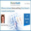 Differences between Device and Drug Clinical Research – A Jeopardy Learning Game