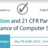 Computer Systems Validation Conference 2018 – 21 CFR Part11 Compliance
