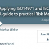 Risk Management Principles and Requirements – ISO14971 and IEC62304 Seminar 2018