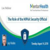 The Role of the HIPAA Security Official