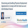 Structuring and Auditing Physician Employment Agreements to Comply with the Stark Law and Anti-Kickback Statute