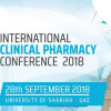 International Clinical Pharmacy Conference, Sep 28,2018