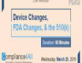 Device Changes, FDA Changes, and the 510(k)-2019