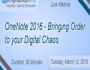 OneNote 2016 – Bringing Order to your Digital Chaos