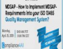 How to Implement MDSAP-Requirements into your ISO 13485
