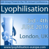 7th Annual Lyophilisation Conference, 3rd – 4th June 2019, London, Uk