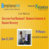 Food Business!! – Business Continuity & Disaster Recovery